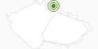 Langlaufgebiet Mala Upa Tschechisches Riesengebirge: Position auf der Karte