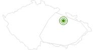 Langlaufgebiet Cenkovice Adlergebirge: Position auf der Karte