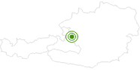Langlaufgebiet Postalm am Wolfgangsee: Position auf der Karte