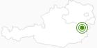 Langlaufgebiet Mönichkirchen Mariensee in den Wiener Alpen in Niederösterreich: Position auf der Karte