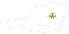 Langlaufgebiet Mariazeller Land in der Hochsteiermark: Position auf der Karte