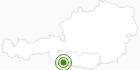 Langlaufgebiet Kötschach Mauthen in Nassfeld-Pressegger See - Lesachtal - Weissensee: Position auf der Karte