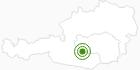 Langlaufgebiet Murau - Kreischberg in der Urlaubsregion Murtal: Position auf der Karte