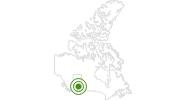 Langlaufgebiet Canyon Ski Area in Edmonton: Position auf der Karte