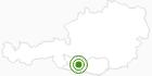 Langlaufgebiet Goldeck am Millstätter See: Position auf der Karte