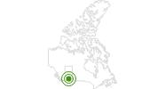 Langlaufgebiet Canada Olympic Park Calgary in Calgary: Position auf der Karte