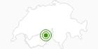 Cross-Country Skiing Area Aletsch Arena (Riederalp, Bettmeralp, Fiesch) in Brig / Aletsch: Position on map