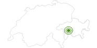 Langlaufgebiet Splügen/Rheinwald in San Bernardino: Position auf der Karte
