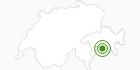 Langlaufgebiet Avers in Viamala: Position auf der Karte