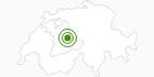 Langlaufgebiet Bumbach im Naturpark Gantrisch: Position auf der Karte