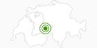 Langlaufgebiet Grindelwald in der Jungfrau Region: Position auf der Karte