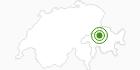 Langlaufgebiet Feldis in Viamala: Position auf der Karte