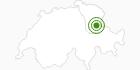 Langlaufgebiet Flumserberg im Heidiland : Position auf der Karte