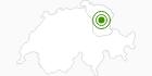 Langlaufgebiet Hemberg - Scherb in Toggenburg: Position auf der Karte