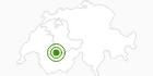 Langlaufgebiet Lenk im Simmental in Lenk-Simmental: Position auf der Karte