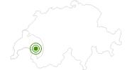 Webcam Blick nach Osten vom SKigebiet Les Rochers-de-Naye ais in Genferseegebiet: Position auf der Karte