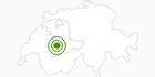 Langlaufgebiet Rossberg Oberwil in Lenk-Simmental: Position auf der Karte