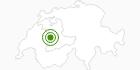 Langlaufgebiet SchneeSelital im Naturpark Gantrisch: Position auf der Karte