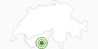 Langlaufgebiet Täsch Randa – Loipe Matterhorn/Zermatt in Zermatt: Position auf der Karte