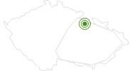 Langlaufgebiet Ricky v O h Adlergebirge: Position auf der Karte