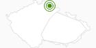 Langlaufgebiet Spindlermühle (Špindlerův Mlýn) Tschechisches Riesengebirge: Position auf der Karte