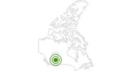 Langlaufgebiet Sunridge Ski Area in Edmonton: Position auf der Karte