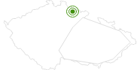 Langlaufgebiet Vrchlabi Tschechisches Riesengebirge: Position auf der Karte