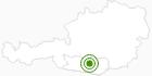 Langlaufgebiet Hochrindl Sirnitz in der Region Nockberge Bad Kleinkirchheim: Position auf der Karte