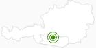 Langlaufgebiet Innerkrems - Schönfeld - Gmünd (Lieser- und Maltatal) in der Region Nockberge Bad Kleinkirchheim: Position auf der Karte