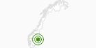 Langlaufgebiet Budor in Hedmark: Position auf der Karte