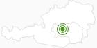 Langlaufgebiet Hohentauern in der Urlaubsregion Murtal: Position auf der Karte