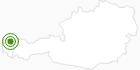 Langlaufgebiet Hittisau - Balderschwang im Bregenzerwald: Position auf der Karte