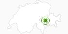 Langlaufgebiet Vals in Vals: Position auf der Karte