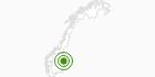 Langlaufgebiet Trysil in Hedmark: Position auf der Karte