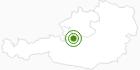 Langlaufgebiet Gosau im Salzkammergut: Position auf der Karte
