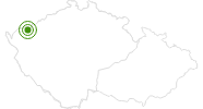 Cross-Country Skiing Area Plesivec Krusne Hory: Position on map