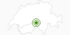 Langlaufgebiet Goms in Brig / Aletsch: Position auf der Karte