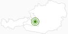 Cross-Country Skiing Area Radstadt - Altenmarkt Salzburg's world of sport: Position on map
