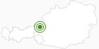 Langlaufgebiet Waidring im Pillerseetal: Position auf der Karte