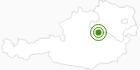 Langlaufgebiet Langlaufzentrum Hochreit im Mostviertel: Position auf der Karte