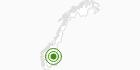 Langlaufgebiet Lillehammer in Oppland: Position auf der Karte