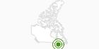 Langlaufgebiet Gatineau Park Ottawa in Outaouais: Position auf der Karte