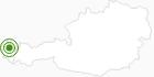 Langlaufgebiet Bezau - Bizau - Reuthe im Bregenzerwald: Position auf der Karte