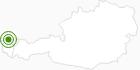 Langlaufgebiet Sulzberg im Bregenzerwald: Position auf der Karte