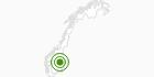 Cross-Country Skiing Area Sjusjoen in Hedmark: Position on map