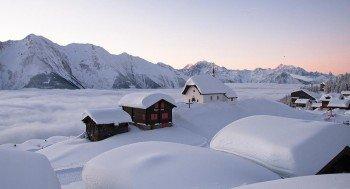 Winterwunderland im Wallis
