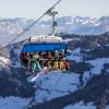 Gondelausblick im Ski Juwel Alpbachtal Wildschönau