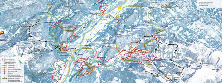 Trail Map Alpbachtal