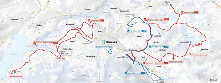 Trail Map Nesselwang
