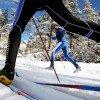 Die Loipen werden sowohl für den klassischen Langlauf als auch zum Skating präpariert.